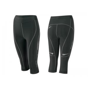 Kraťasy F LADY-1 3/4 fitness bez vložky, černé